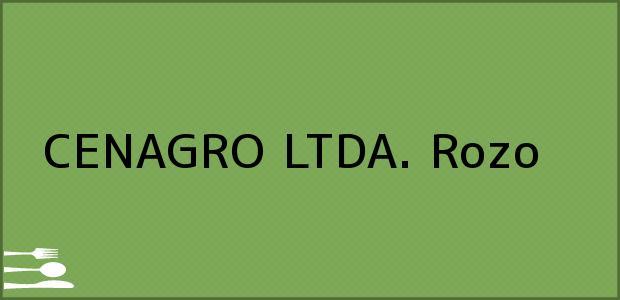 Teléfono, Dirección y otros datos de contacto para CENAGRO LTDA., Rozo, , Colombia