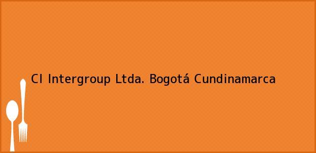 Teléfono, Dirección y otros datos de contacto para CI Intergroup Ltda., Bogotá, Cundinamarca, Colombia