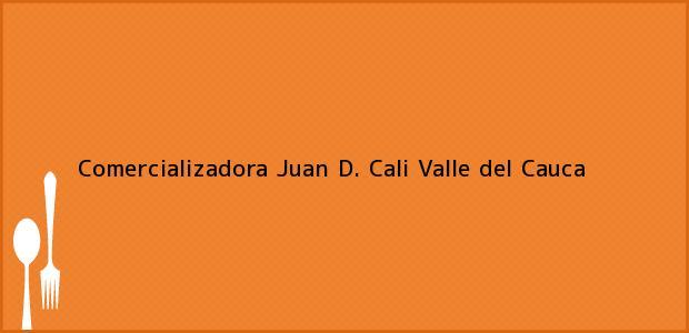 Teléfono, Dirección y otros datos de contacto para Comercializadora Juan D., Cali, Valle del Cauca, Colombia