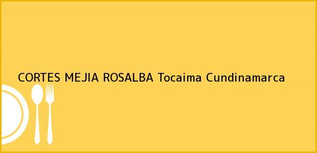 Teléfono, Dirección y otros datos de contacto para CORTES MEJIA ROSALBA, Tocaima, Cundinamarca, Colombia