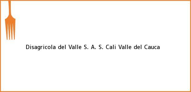 Teléfono, Dirección y otros datos de contacto para Disagricola del Valle S. A. S., Cali, Valle del Cauca, Colombia