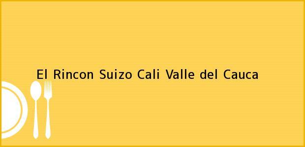 Teléfono, Dirección y otros datos de contacto para El Rincon Suizo, Cali, Valle del Cauca, Colombia