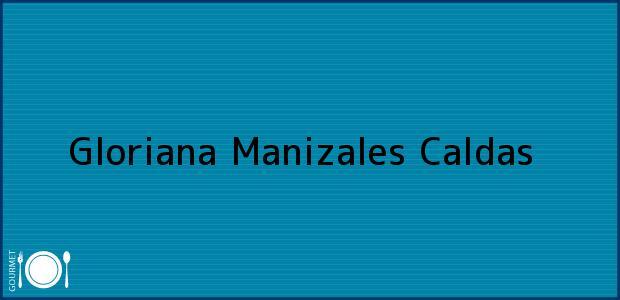 Teléfono, Dirección y otros datos de contacto para Gloriana, Manizales, Caldas, Colombia
