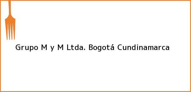 Teléfono, Dirección y otros datos de contacto para Grupo M y M Ltda., Bogotá, Cundinamarca, Colombia