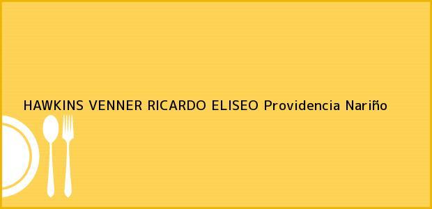 Teléfono, Dirección y otros datos de contacto para HAWKINS VENNER RICARDO ELISEO, Providencia, Nariño, Colombia