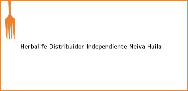 Teléfono, Dirección y otros datos de contacto para Herbalife Distribuidor Independiente, Neiva, Huila, Colombia