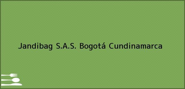 Teléfono, Dirección y otros datos de contacto para Jandibag S.A.S., Bogotá, Cundinamarca, Colombia
