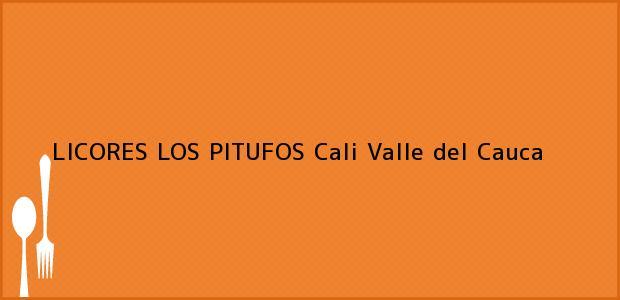 Teléfono, Dirección y otros datos de contacto para LICORES LOS PITUFOS, Cali, Valle del Cauca, Colombia