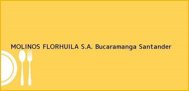 Teléfono, Dirección y otros datos de contacto para MOLINOS FLORHUILA S.A., Bucaramanga, Santander, Colombia