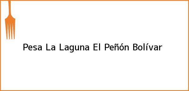Teléfono, Dirección y otros datos de contacto para Pesa La Laguna, El Peñón, Bolívar, Colombia