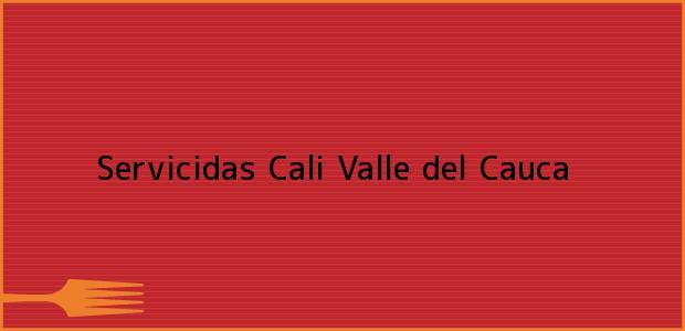 Teléfono, Dirección y otros datos de contacto para Servicidas, Cali, Valle del Cauca, Colombia