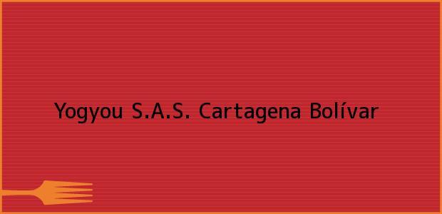 Teléfono, Dirección y otros datos de contacto para Yogyou S.A.S., Cartagena, Bolívar, Colombia