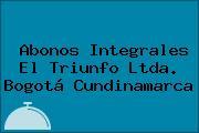 Abonos Integrales El Triunfo Ltda. Bogotá Cundinamarca