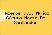 Aceros J.C. Muñoz Cúcuta Norte De Santander