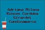Adriana Milena Rincon Cordoba Girardot Cundinamarca