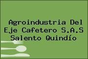Agroindustria Del Eje Cafetero S.A.S Salento Quindío