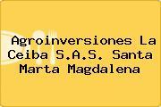 Agroinversiones La Ceiba S.A.S. Santa Marta Magdalena