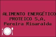 ALIMENTO ENERGÉTICO PROTEICO S.A. Pereira Risaralda