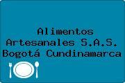 Alimentos Artesanales S.A.S. Bogotá Cundinamarca