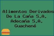 Alimentos Derivados De La Caña S.A. Adecaña S.A. Guachené