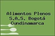 Alimentos Plenos S.A.S. Bogotá Cundinamarca