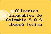 Alimentos Saludables De Colombia S.A.S. Ibagué Tolima