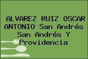 ALVAREZ RUIZ OSCAR ANTONIO San Andrés San Andrés Y Providencia