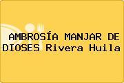 AMBROSÍA MANJAR DE DIOSES Rivera Huila