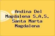 Andina Del Magdalena S.A.S. Santa Marta Magdalena