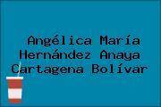 Angélica María Hernández Anaya Cartagena Bolívar