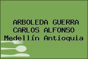 ARBOLEDA GUERRA CARLOS ALFONSO Medellín Antioquia