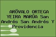 ARÕVALO ORTEGA YEIRA MARÚA San Andrés San Andrés Y Providencia