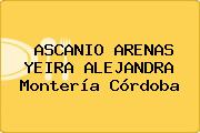 ASCANIO ARENAS YEIRA ALEJANDRA Montería Córdoba