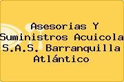 Asesorias Y Suministros Acuicola S.A.S. Barranquilla Atlántico