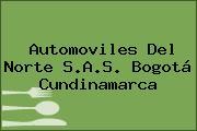 Automoviles Del Norte S.A.S. Bogotá Cundinamarca
