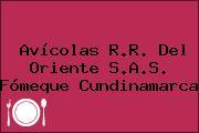 Avícolas R.R. Del Oriente S.A.S. Fómeque Cundinamarca