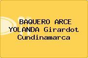 BAQUERO ARCE YOLANDA Girardot Cundinamarca