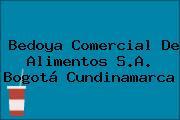 Bedoya Comercial De Alimentos S.A. Bogotá Cundinamarca