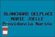 BLANCHARD DELPLACE MARIE JOELLE Providencia Nariño