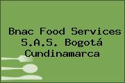 Bnac Food Services S.A.S. Bogotá Cundinamarca
