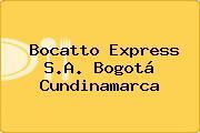Bocatto Express S.A. Bogotá Cundinamarca