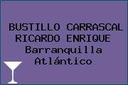 BUSTILLO CARRASCAL RICARDO ENRIQUE Barranquilla Atlántico