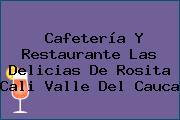 Cafetería Y Restaurante Las Delicias De Rosita Cali Valle Del Cauca