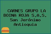 CARNES GRUPO LA BOINA ROJA S.A.S. San Jerónimo Antioquia