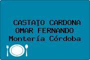 CASTAÞO CARDONA OMAR FERNANDO Montería Córdoba