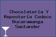 Chocolatería Y Repostería Codeco Bucaramanga Santander