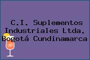 C.I. Suplementos Industriales Ltda. Bogotá Cundinamarca