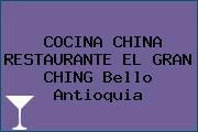 COCINA CHINA RESTAURANTE EL GRAN CHING Bello Antioquia