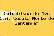 Colombiana De Aves S.A. Cúcuta Norte De Santander