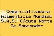 Comercializadora Alimenticia Mundial S.A.S. Cúcuta Norte De Santander
